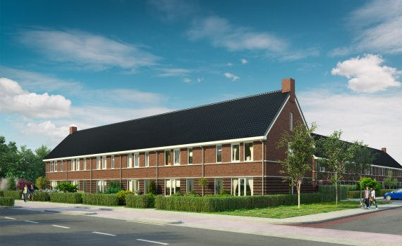 13 woningen aan het Bonifatiushof in Leeuwarden