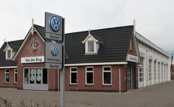 Nieuwbouw bedrijfspand Autoland Van den Brug