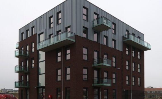 Doordacht in duurzaam 18 appartementen Sinnebuorren Akkrum