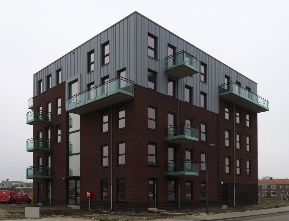 18 appartementen Akkrum