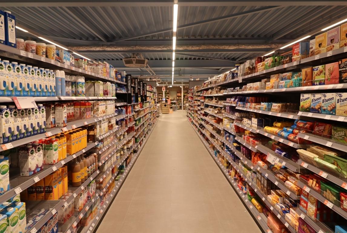 led-verlichting supermarkt
