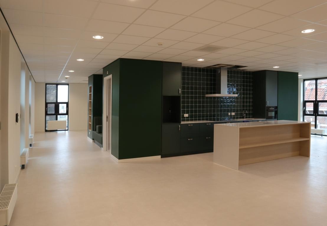 Keuken in gemeenschappelijke ruimte