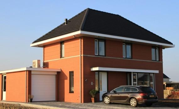 Installatietechniek voor drie luxe vrijstaande woningen