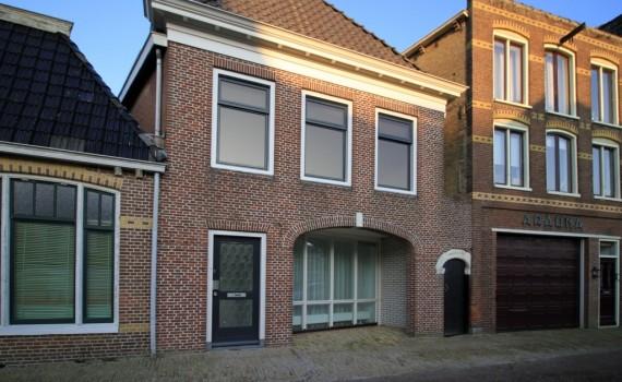 8 appartementen aan de Zilverstraat te Franeker