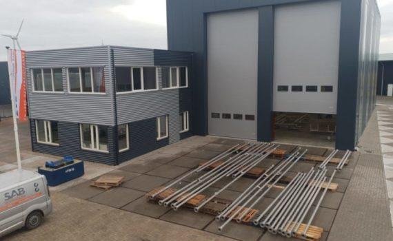 Nieuwe bedrijfshal Staal en Aluminiumbouw Harlingen