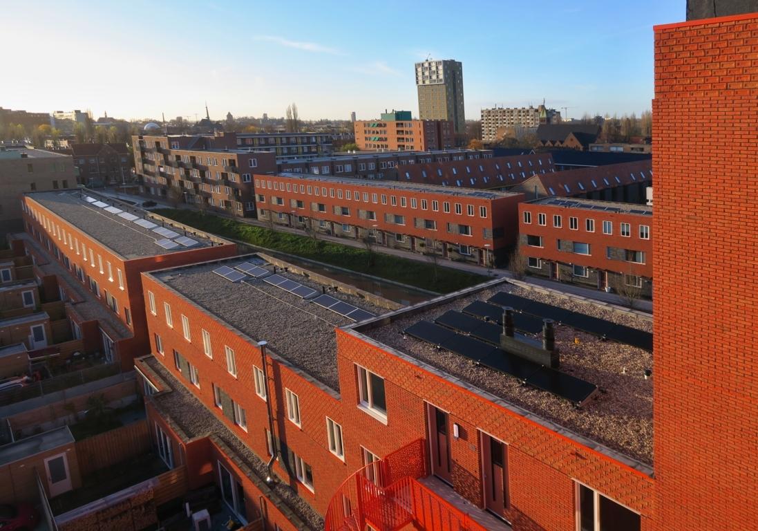 Twee woontorens van 34 appartementen De Velden 03