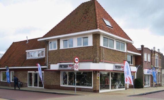 Verbouwing en verduurzaming fietsenwinkel Franeker